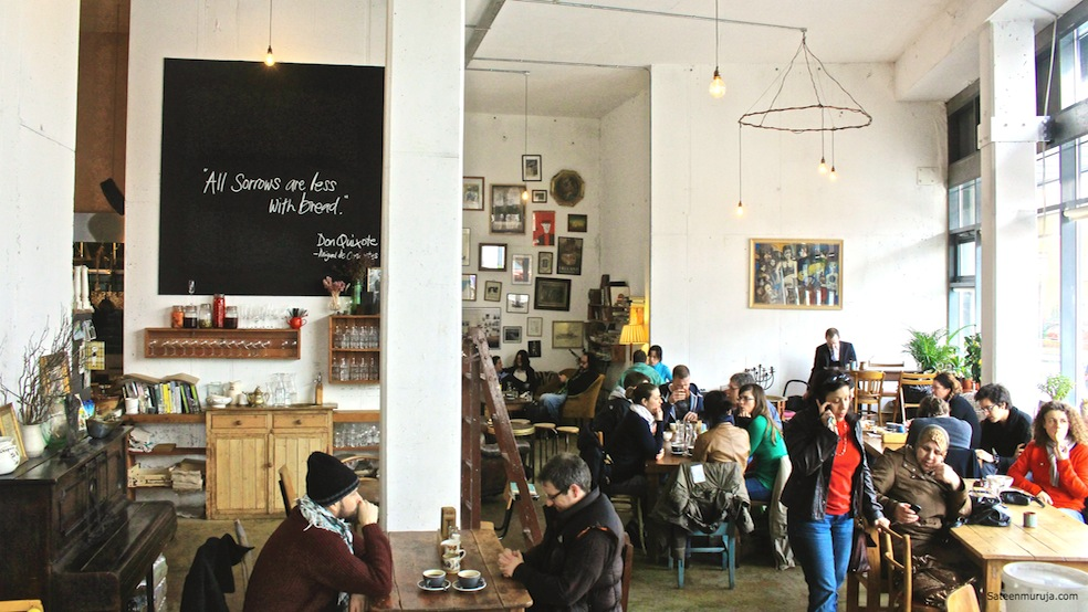 Fumbally is a bustling urban but yet rustic looking space in Dublin 8. The area is known for its artisan history, and you can find a lot of antique and design shops here.