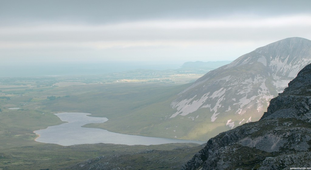Almost on top of Errigal!