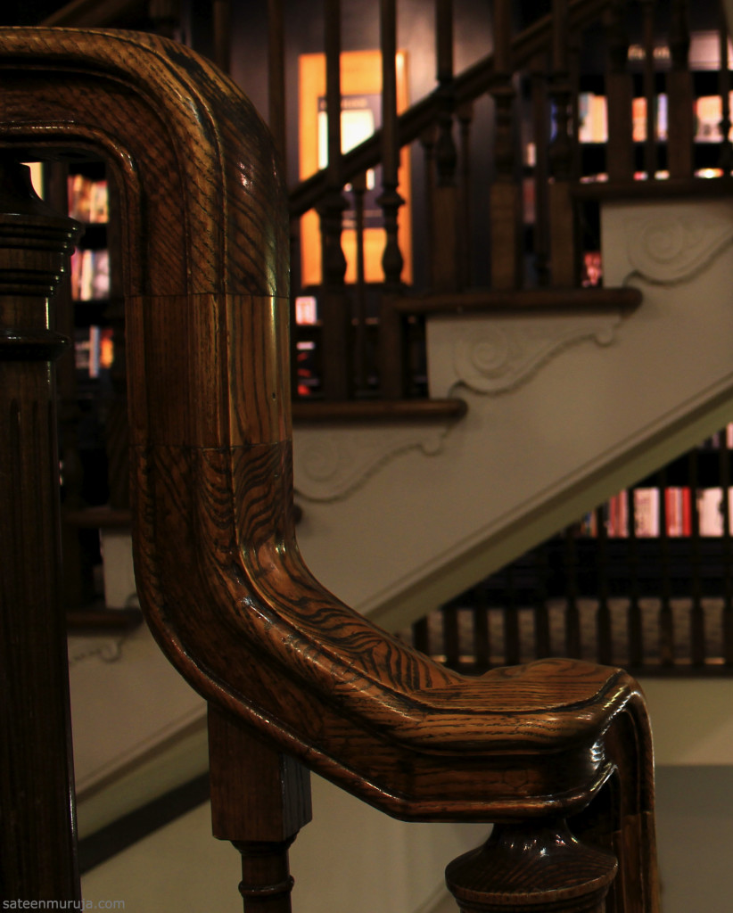 Hatchards still has its original stairways.