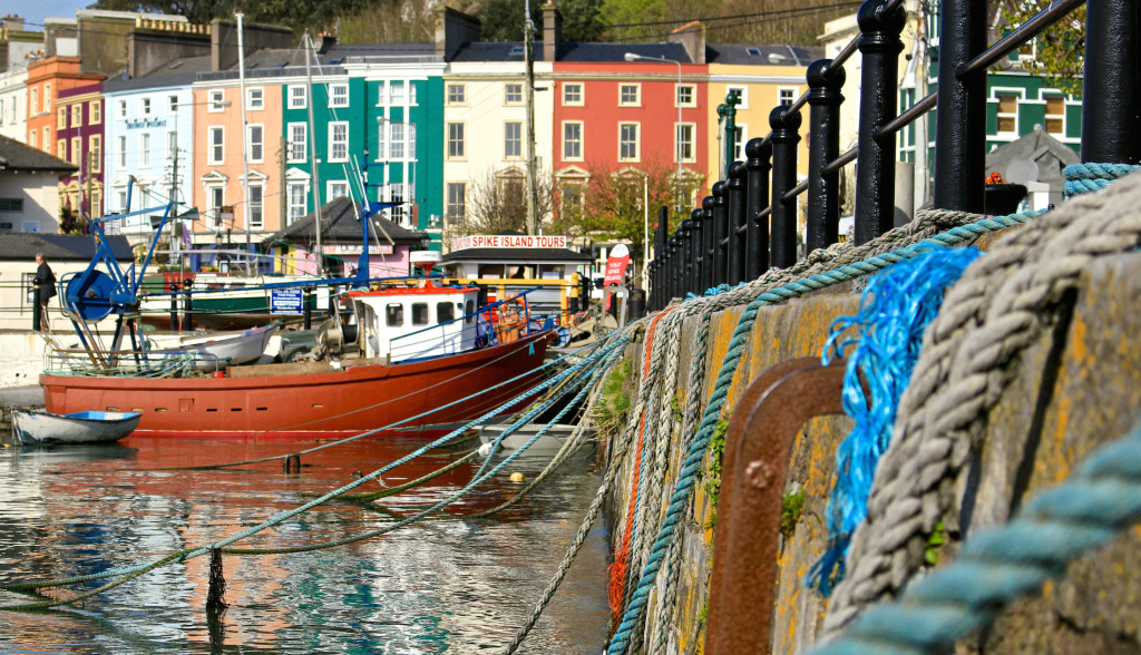 I have seen my fair share of picturesque fishing villages. This one is Cobh in Ireland, co. Cork.