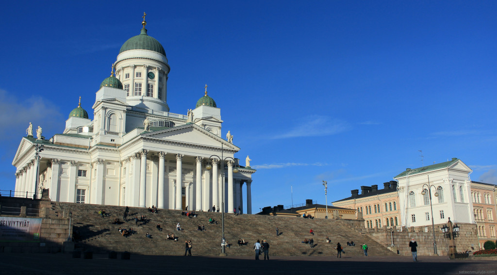 Helsinki Cathedral was built for the Grand Duke of Finland, that is Tsar Nicholas I of Russia, between 1830 and 1852.