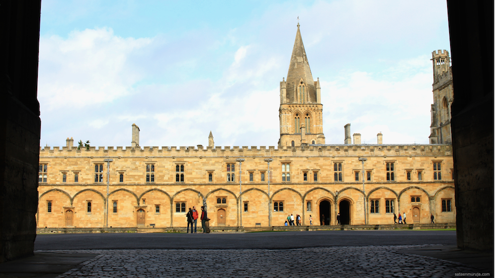 Oxfordin Christ Church.