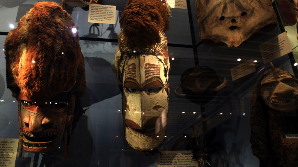 Pitt Rivers Museum was fascinating in its creepiness.