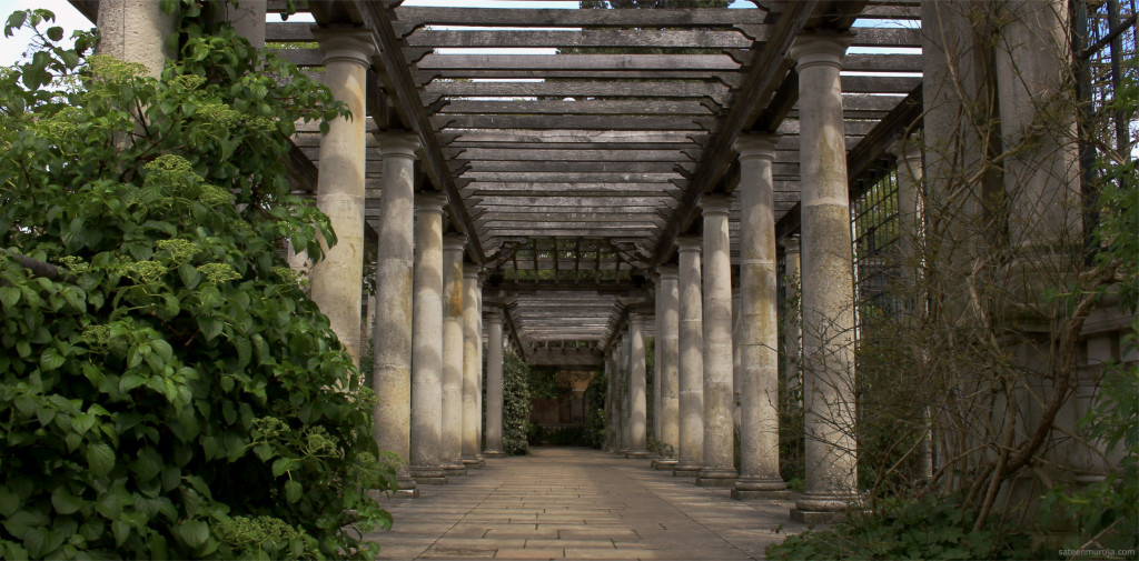 London County Council bought the gardens in 1960 and started restoring the pergola. The garden was opened to public in 1963.