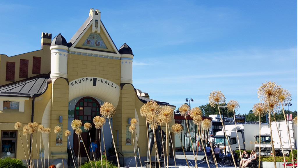 Kuopio's Market Hall is the first one I remember visiting, and it still hold a special spot in my stomach.