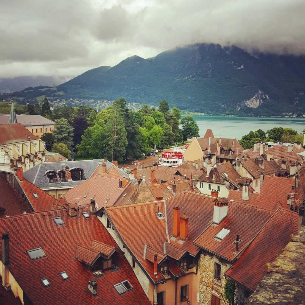 In my opinion, the best view of Annecy roof tops was from Chateau d'Annecy.