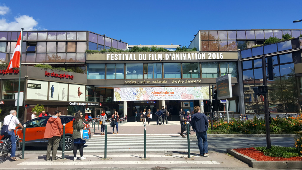 The Bonlieu Centre also hosts a yearly animation festival. The centre is situated opposite Lac d'Annecy.