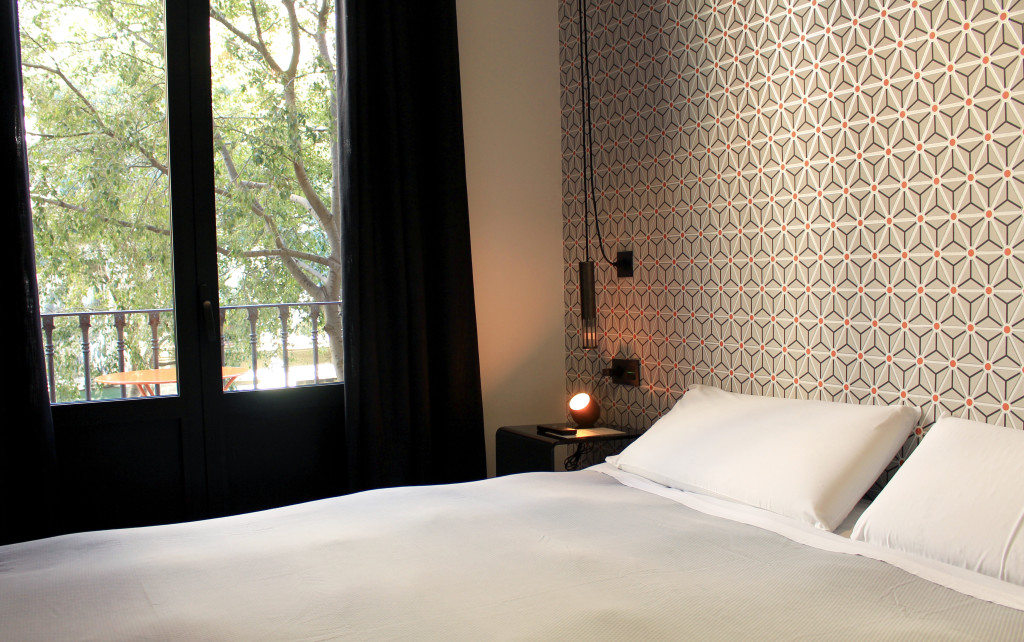 I enjoyed the urban feel of my stay: my room was a perfect spot to get into the feel of what it would be like to actually live in Barcelona.